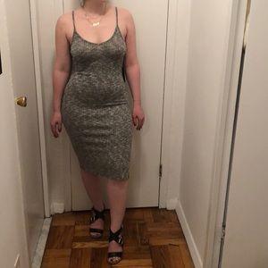 Knit body con dress NWT